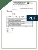 Instrumento de Evaluación Para Exposición de Grupos
