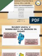 Marco legal de la red pública de salud del Ecuador UPEC