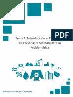 Temario_ M1T1_Introducción Al Transporte de Personas y Mercancías y Su Problemática