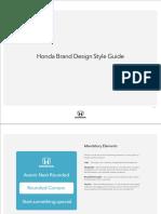 Honda Style Guide