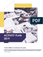 Activity Plan for Publication