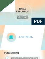 KELOMPOK KIMUN (AKTINIDA)