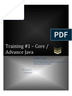 Java Training Report