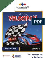 MATEMÁTICAS GRADO 4. Cuadernillo del estudiante.pdf
