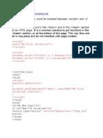 TUTORIAL Javascript 1
