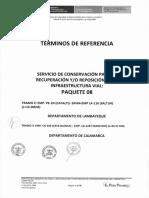 Tdr - Servicio Pqte. 8c
