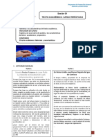 Módulo 1 Características Del Texto Académico