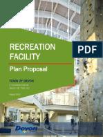 2018 08 20 Recreation Facility Business Plan v1