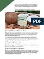 Manfaat Air Kelapa Bagi Kesehatan Yang Mengejutkan