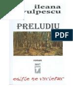 Ileana Vulpescu - Preludiu