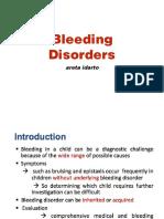 Hemophilia-bleeding Dx Approach