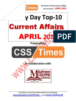 Day by Day Current Affairs For the month of April 2019.pdf