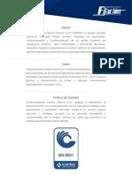 Catalogo Fijacion Mano y Pie 2016