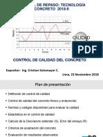 p1 Control Calidad Concreto-repaso Tecno
