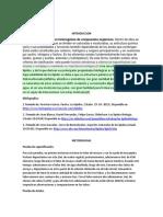 Quimica de Lipidos, Informe