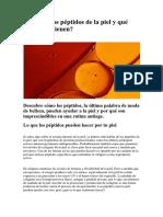 Peptidos de La Piel