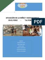 Situación de La Niñez y Adolescencia en El Perú Oficial
