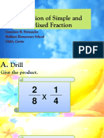 Math Lesson 9 (Division of Fraction)