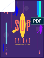 Dosier SUP Talent 2019