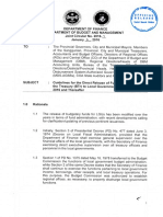 Joint Circular Dof - Dbm No. 2016-1 - Guidelines for the Direct Release of Funds by the Bureau of the Treasury (Btr) to Local Government Units (Lgus) in Fy 2016 and Thereafter