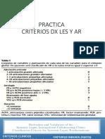 Criterios Dx Les y Ar