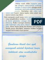 TD & HR Turun Pd Syok Neurogenik