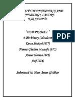 DLD PROJECT (4-Bit Binary calculator).pdf