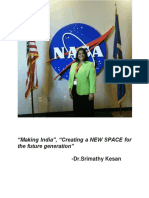 Dr.Srimathy Kesan - founder and CEO of Space Kidz India