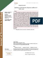Effect of rumen manipulation on the laboratory digestion coefficient of barley straw