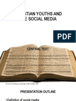 Christian Youths and the Social Media