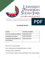 Fieldwork Report Kak