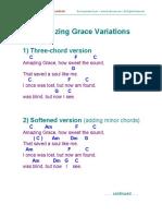 Amazing Grace Variations