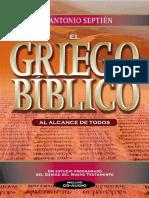 Septien Jose Antonio - El Griego Biblico- Ed Clie