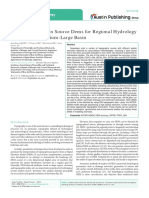 2016 Evaluation of Open Source Dems for Regional Hydrology Analysis in a Medium-large Basin