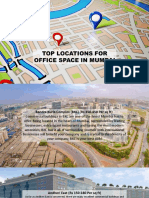 Top 13 Locations for Office Space in Mumbai