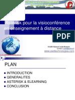 Asterisk pour la visioconference