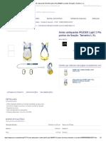 Arnês Antiquedas IRUDEK Light 2 Plus 0840074, 2 Pontos de Fixação. Tamanho L-XL