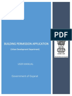 Building Permission Application User Manual