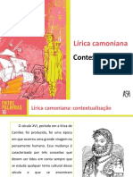 Lírica Camoniana - Contextualização