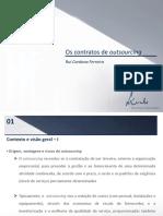 RCF Os Contratos de Outsourcing Apresentacao Congresso PI - 25-09-14