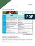 Familia y Salud - Menu de Temporada Invierno 1 - 2019-01-14