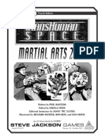 GURPS 4th - Transhuman Space - Martial Arts 2100