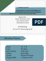 LAPORAN KASUS STEMI INFERIOR + TAVB + DM tipe 2