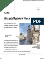 Visita Gratis 15 Palacios de Valencia . Las Provincias