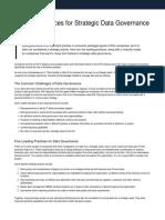 Maturity Model for Data Governance