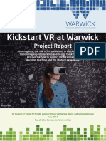 Vr Project Report