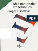 Jurgen Habermas - Identidades nacionales y postnacionales [www.refugiosociologico.blogspot.com].pdf