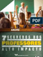 eBook 7 Segredos Professores Alto Impacto Andre Sampaio
