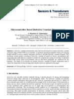 Micro Controller Based DC Measurement