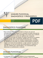 Analisis funcional, diagnostico y pronostico